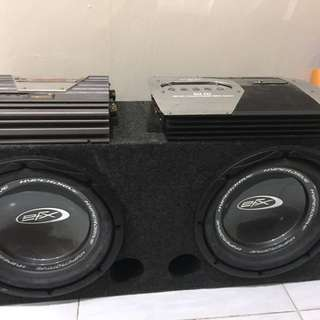 EFX Speaker With amplifier