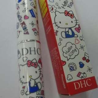 Hello Kitty x DHC 無色純欖潤唇膏 日本限定款專門店款