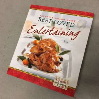 Entertaining- Cook book