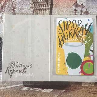 Starbucks Limited Edition Ezlink Card