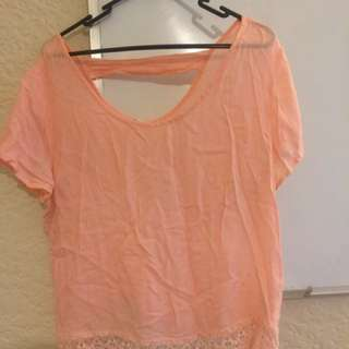 T-shirt Pink Size M
