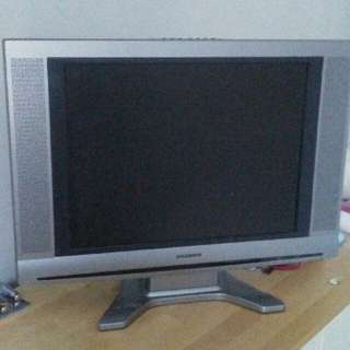 "20"" Black and gray Flat Screen"