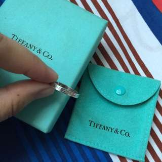 Authentic Tiffany & Co. Tiffany Notes Band Ring