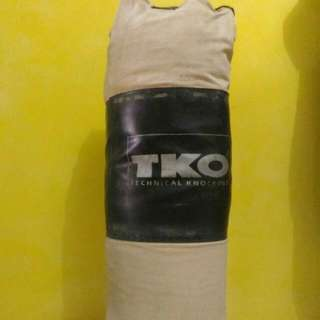 Tko Punching Bag with 2 Pairs Of Boxing Gloves