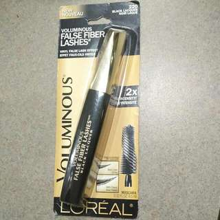 L'oréal Voluminous False Fiber Lashes (Black Lacquer) mascara