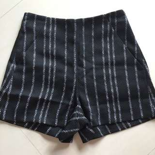 Fashmob Stripe Shorts XS