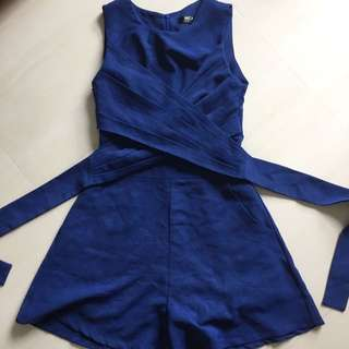 Mgp Label Romper Playsuit S