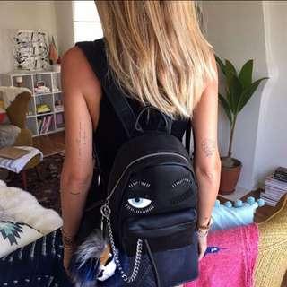 Chiara Ferragni銀鍊小後背包