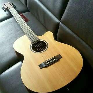 Corona SLA-70 Pure Cut Away Acoustic Guitar (No Preamp)