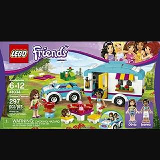 Lego Friends Caravan 41034