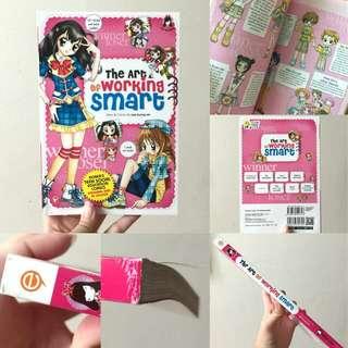 #SemuaRM5 Coloured Anime Manga [The Art Of Working Smart] (English)