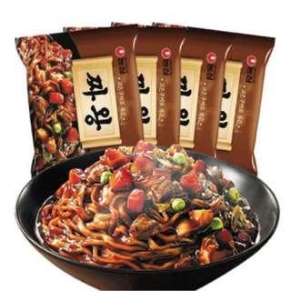 韓國炸醬面王No.1 농심 짜왕農心炸醬面