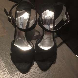 Prada heels.    size 38.