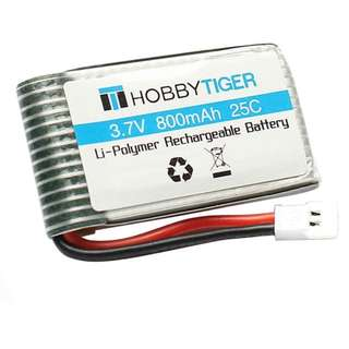 HOBBYTIGER 3.7V 25C LiPo Battery Charger for SYMA X5SW X5SC CX-30W RC Quadcopter Drone Spare Parts (800mAh)