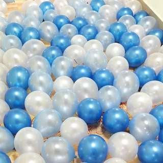 """10"""" Pearl Metallic Latex Balloon"""