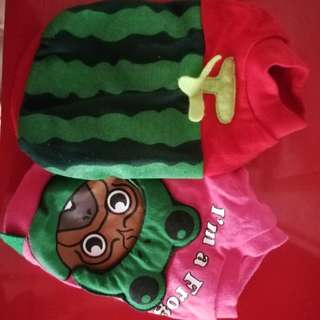 Set Of 2 Pet Clothes Small Breed