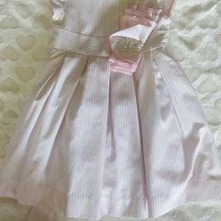periwinkle pinks dress 1yr old