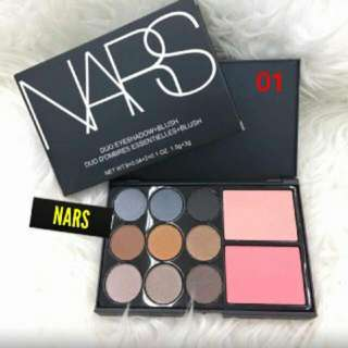 NARS EYESHADOW + BLUSHER