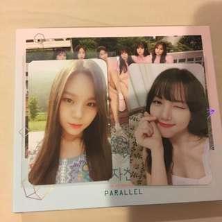 [GFRIEND] Parallel Album Photocard