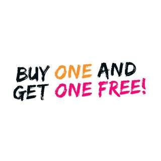 BUY ONE GET ANYTHING FREE