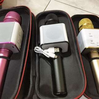 Magic Mic (langsung ada speaker nya) Ori China