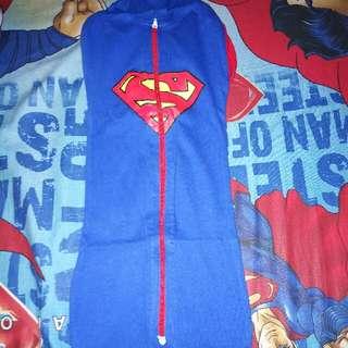 Bedong Baby Dan Kaos Superman Anak Uk 1th