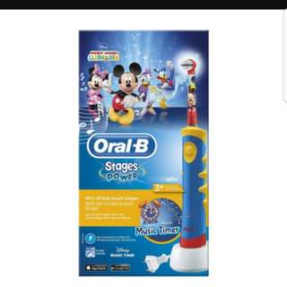 Oral B Stages Power Kids Toothbrush D10.513k Mickey Mouse