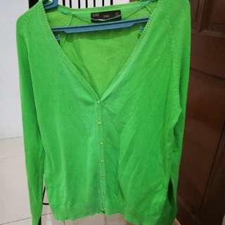 Zara Blazer Green
