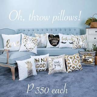Pre-order: Luxe Throw Pillow Cases