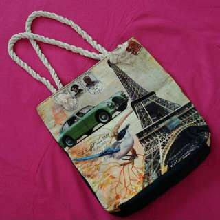 FREE! Tote Bag With Rope Handles