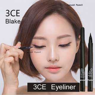 Korea Blake Black Eyeliner waterproof Fine Brush Tip Made in Korea Fine Brush Tip