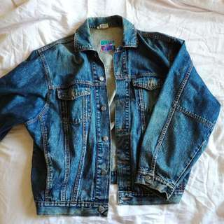 Genuine 90's Oversized Denim Jeans Jacket