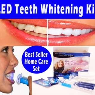 Advanced Teeth Whitening Home Care Kit Brand New