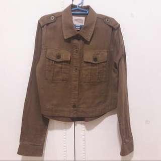 H&M Brown Cargo Jacket