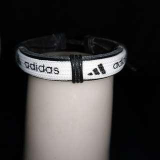 adidas皮環手鏈