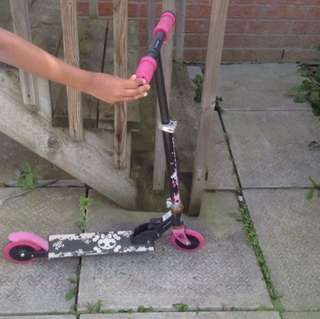 Girls Kicking Scooter Selling As Is