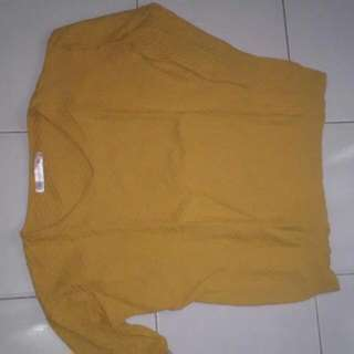 Yellow Knit Bagus