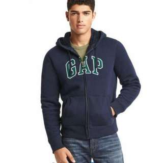 全新Gap台灣公司貨含吊牌 深藍色連帽外套 保暖休閒外套 男裝 男生款 大人