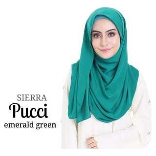 Tudung Insyira Emerald Green