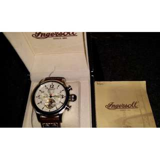 PRICE MARKDOWN!!!! Ingersoll Watch IN4506WHGR Bison No. 18 Automatic German Design