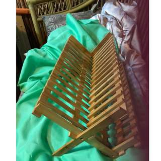 🚚 竹製碗盤架-S46-BF180