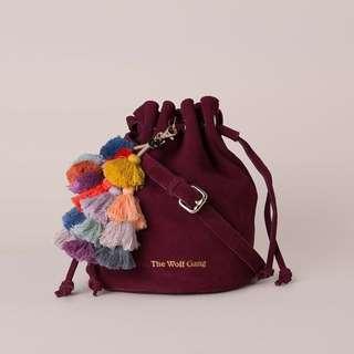 The Wolf Gang Drawstring Bag