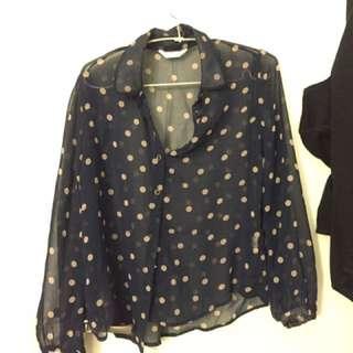 Semi Transparent Shirt