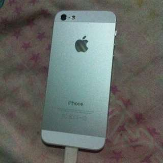Iphone5 Silver Authentic