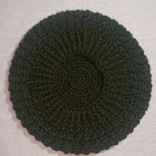 Handmade Beret in Crochet