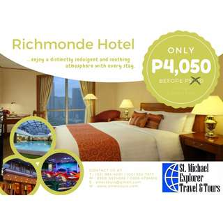 Up to 70% Hotel Discounts: Richmonde Hotel