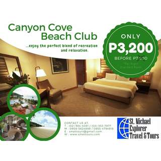 Up to 70% Hotel Discounts: Canyon Cove Beach Club