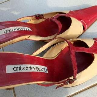 Original Antonio Eboli Leather Pump Shoes