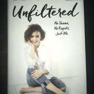 Lily Collin's 'Unfiltered'