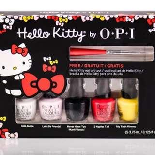 OPI Hello Kitty Set